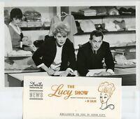 LUCILLE BALL BENNETT GREEN THE LUCY SHOW ORIGINAL 1962 CBS TV PHOTO