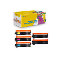 Set + BK Compatible TN210BK CMY Toner Cartridge for Brother HL-3040 HL-3040CN