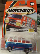 Matchbox VW Transporter #12 Blue / White