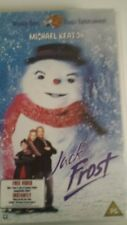 Jack Frost VHS Video Tape Warner Bros Stars Michael Keaton