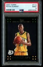 2007-08 Topps Kevin Durant Rookie #112 PSA 9 Mint RC Black 50th Anniversary