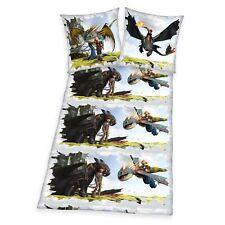 Herding Bettwäsche Set Dragons 100% Baumwolle 135 x 200 cm Flanell