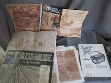 Huge Lot - Al Stohlman Leather Craft Tooling Carving Books Patterns Plus ch615