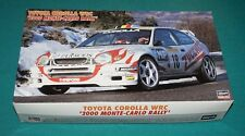 Toyota Corolla WRC 2000 Monte Carlo Rally Hasegawa 1/24 Complete & Unstarted.