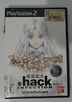 Dot .hack INFECTION Sony PlayStation 2 2003 with Bonus DVD PS2 No Manual