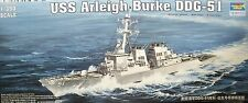 1/350 USS Arleigh Burke DDG-51 Model Kit by Trumpeter