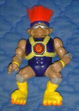 """1992 *** troll avec cheveux rouge et Roller blades *** 4"""" à 5"""" Figure Ace Novelty"""
