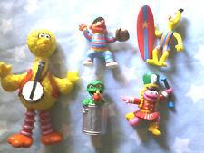 Sesame Street Figures / toys as pictured Big Bird, Ernie, Bert, Oscar +