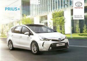 Prospekt / Brochure Toyota Prius + 01/2015 mit Preisliste