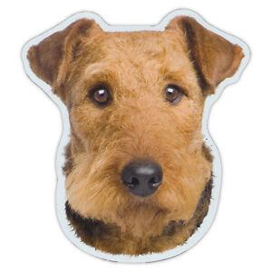 Magnetischer Stoßstangen Aufkleber - Airedale Terrier Hunderasse Magnet - Auto,