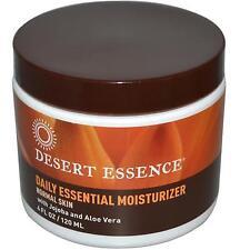 Desert Essence Daily Essential Moisturizer - 4 FL Oz
