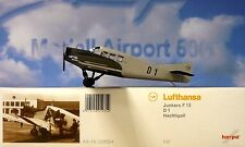 Herpa Wings 1:87 Junkers F.13  Lufthansa  D1 Nachtigall  019354