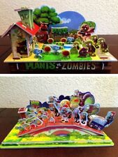 2018 Boys Girls 3D Puzzle package: Plants vs. Zombies Roof & Backyard