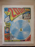 2000ad prog 1 1977 dan dare comic - Excellent condition minus Space Spinner