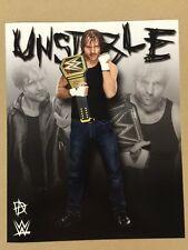 Dean Ambrose WWE Champion 8x10 Photo Wrestlemania Axxess Shield Reigns Rollins