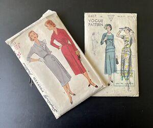 Vintage Vogue/Simplicity  Dress Patterns
