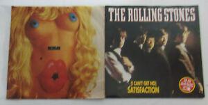 ROLLING STONES - SAMMLUNG VON 2 SINGLEs