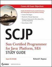 SCJP : Sun Certified Programmer for Java Platform by Richard F. Raposa