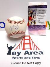 JSA Kris Bryant Single Signed ROMLB MLB Baseball Autographed AUTO Chicago Cubs