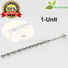Stainless Steel Urethral Plug dilator sound stretching Penis Plug Male Sounding