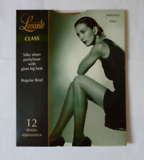 LEVANTE 12 DENIER TIGHTS  - COLOUR: HAZELNUT SIZE X TALL - NEW & SEALED