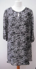 Marks and Spencer Plus Size 3/4 Sleeve Polyester Women's Dresses