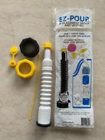 EZ POUR Gas Can Replacement Spout Nozzle Vent Kit-Water Jug Or Gas Can Spout