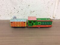 Vintage Tinplate Clockwork Train