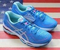 Asics Gel Kayano 23 Women's Running Shoes Marathon Diva Blue Silver [T696N.4393]