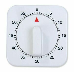 1 Hour Mechanical Roast Timer 5 Minute Markings Rotating Dial Household Kitchen