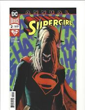 SUPERGIRL ANNUAL #2 TIES IN TO YEAR OF THE VILLAIN STORYLINE KARA INFECTED NM
