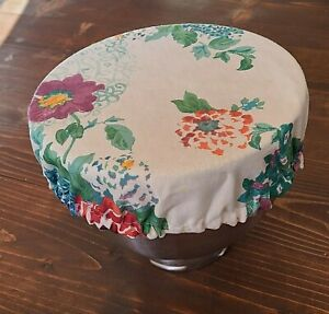 Pioneer Woman *Country Garden* KitchenAid Mixer Fabric Bowl Cover ~Tablecloth