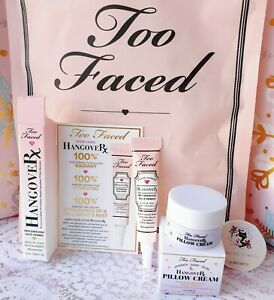 Too Faced deluxe samples HangoverRX, Set of 2 in Bag! New Free shipping