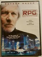 RPG Real Playing Game (Widescreen DVD, 2015) *Rutger Hauer* NEW *SHIPS FAST!