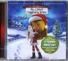Mariah Carey's All I Want For Christmas Is You Colonna Sonora CD Nuovo Sigillato