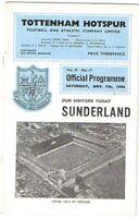 Tottenham Hotspur v Sunderland 1964/5
