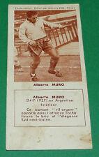 FOOTBALL BISCUITS REM 1958 ALBERTO MURO FC SOCHAUX FCSM OGCN AGEDUCATIFS PANINI