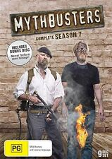 Mythbusters : Season 7 (DVD, 2014, 9-Disc Set) - Region 4