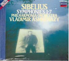 Sibelius: The Symphonies 1-7 (Sinfonie) / Ashkenazy, Philarmonia - CD Decca