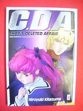 GUNDAM C.D.A. N° 1 -DI:HIROYUKI KITAZUME -MANGA STAR COMICS NUOVO-cda raro