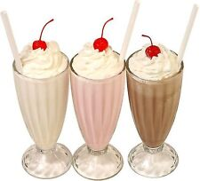 3 Milk Shake pegatina Fresa Chocolate Vainilla Catering Vans Cafe