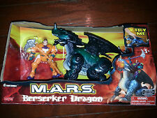 M.A.R.S. Berserker Dragon with Action Figure-Orange