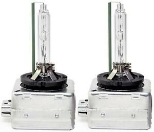 VW Tiguan 2012 - HID Xenon Bulbs D3S 6000K 12V 35W Headlight Lamps Replacement
