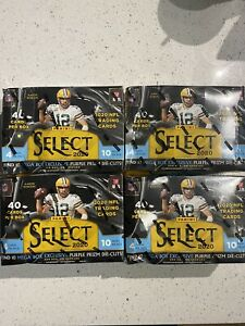 2020 NFL Select Mega Box (Lot of 4)