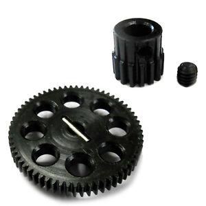 Maverick Quantum Flux Upgraded Gear Set - Spur & Pinion Combo 64T + 15T Metal HD