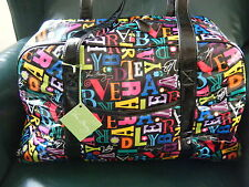 VERA BRADLEY Tour Date Duffel  FROM A TO VERA Trolley Sleeve,  New with Tags!