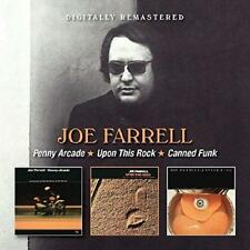 Joe Farrell - Penny Arcade/Upon This Rock/Canned Funk (NEW 2CD)