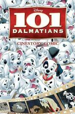 Disney's 101 Dalmatians Cinestory by Disney Storybook Artists (2015, Paperback)