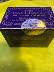 1987 Topps Traded Tiffany #1-132 Complete Set Sealed Greg Maddux PSA 10????