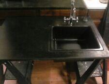 Vintage Soapstone Sink with Backsplash